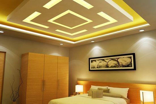 14 Fascinating Unique False Ceiling Master Bedrooms Ideas