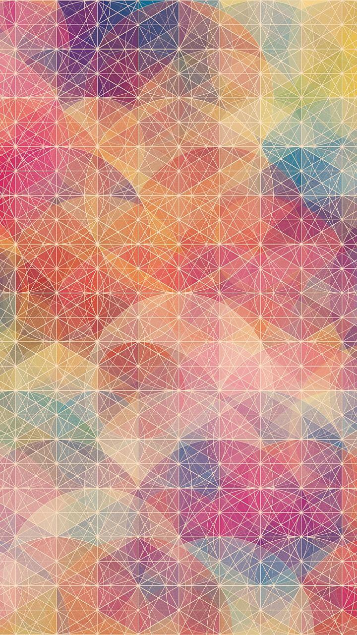 カラフルなアート スマホ用壁紙(Android/720×1280)