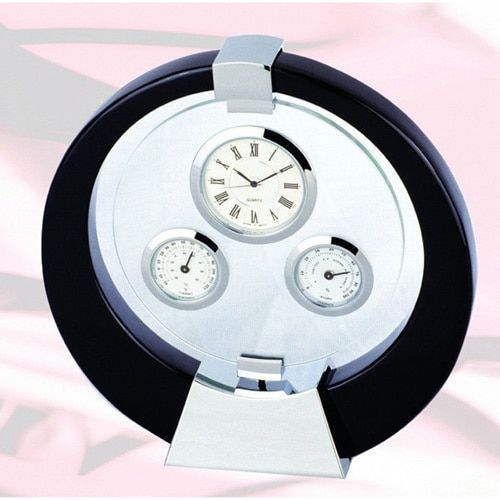 Elegance Clock, Thermometer and Hygrometer