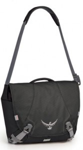 It's tough for men to carry stuff. Tiny man purses are a no-no, and bulging pockets both slow you down and make you look like either a pervert or a woman-hipped freak. So for most guys, a solid messenger bag is the answer.