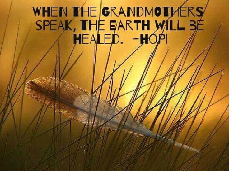 Grandmother speaks...Hopi