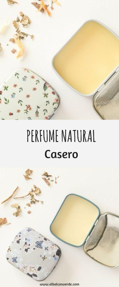 c7361512f Cómo hacer un Perfume Sólido Natural y Casero | cremas | Como hacer ...