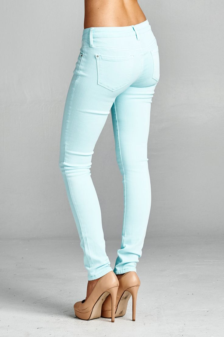 Would love a pair of pastel on-trend pants - maybe mint or coral