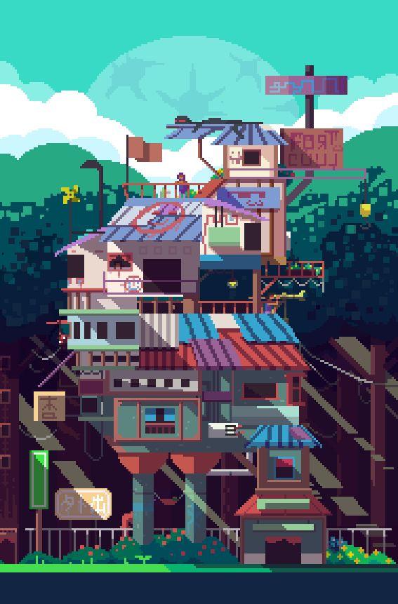 pixel output : Photo