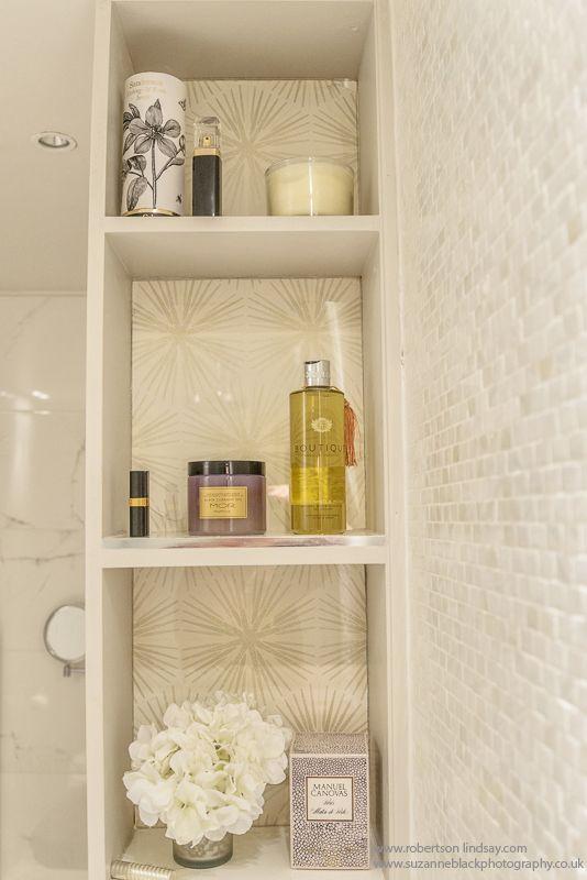 Bathroom Shelves Sally Homan Robertson Lindsay Interiors