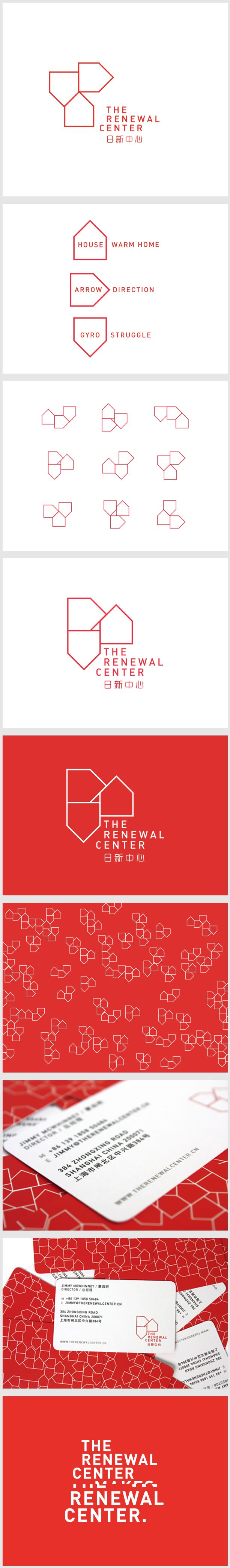 The Renewal Center on Behance
