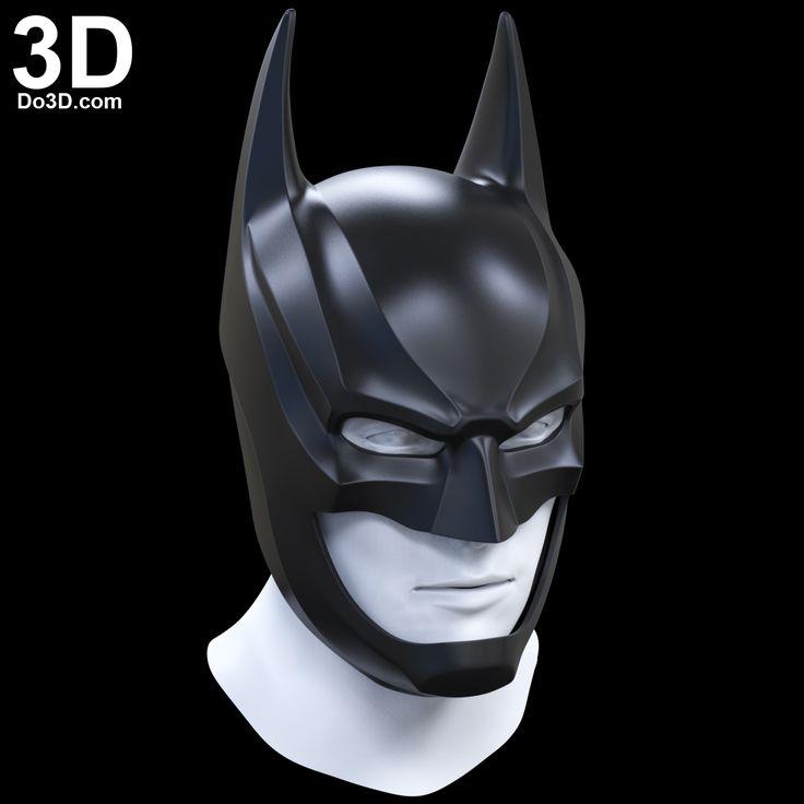 3D Printable Model: Batman Injustice 2 Helmet Cowl | Print File Formats: STL – Do3D.com