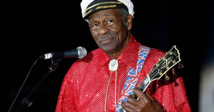 Chuck Berry. The legendary musician passed away today after being found at his home in Missouri. RIP.