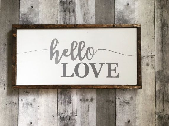 Rustic Nursery Wall Decor : Best rustic wood signs images on