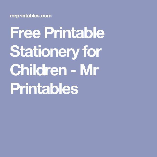 Free Printable Letterhead: 1000+ Ideas About Free Printable Stationery On Pinterest