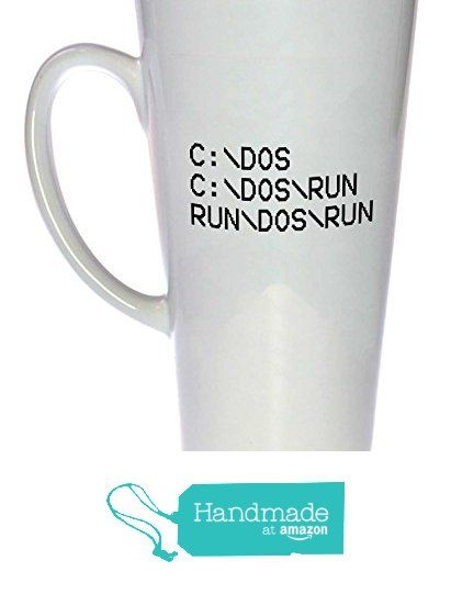 C Dos Run Funny Coffee or Tea Mug from Neurons Not Included http://www.amazon.com/dp/B015UW4T7C/ref=hnd_sw_r_pi_dp_VlLVwb0R1FWB5 #handmadeatamazon