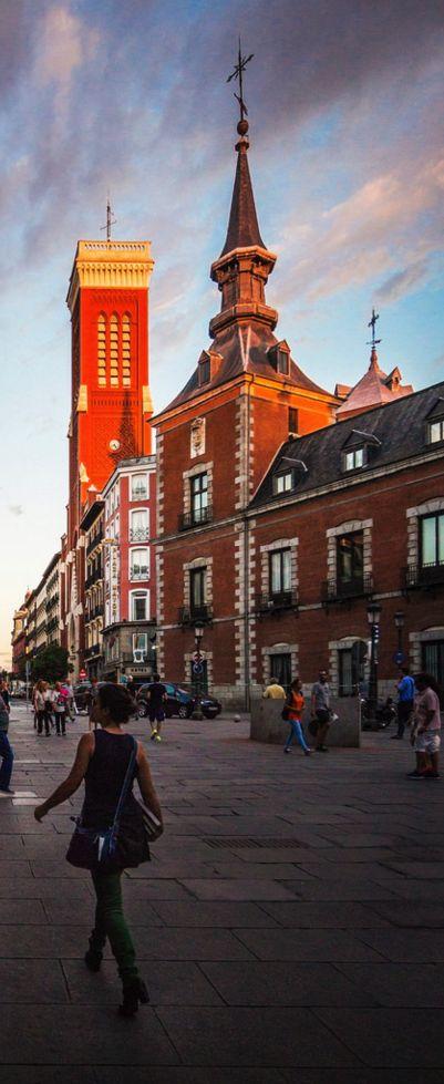 Plaza de Santa Cruz, Madrid, Spain