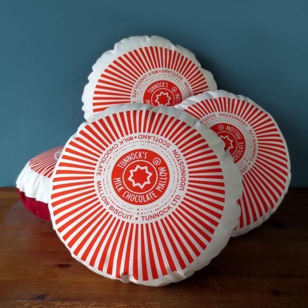 Tunnock's Teacake Printed Cushion