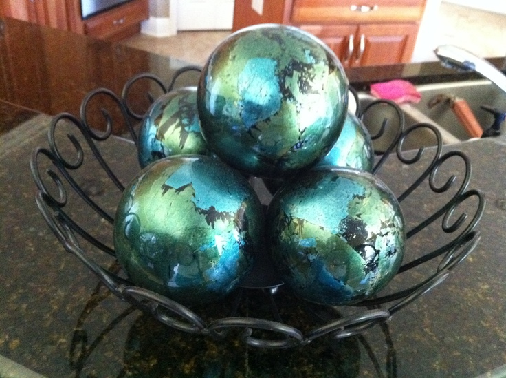 Glass Decorative Balls For Bowls Adorable 40 Best Spheres Images On Interesting Decorative Balls For Bowls Green