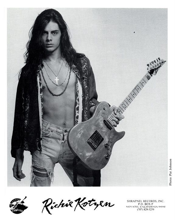 Richie Kotzen (February 3, 1970) American guitarist, o.a. known from the bands Poison and Mr. Big.