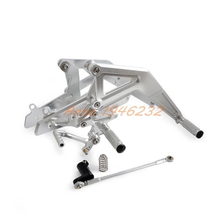 ==> [Free Shipping] Buy Best Sliver CNC Rear Sets Footrests for Kawasaki Ninja 650 (EX650) ER-6F 2012 2013 2014 2015 2016 Motorcycle Parts Online with LOWEST Price | 32706120527