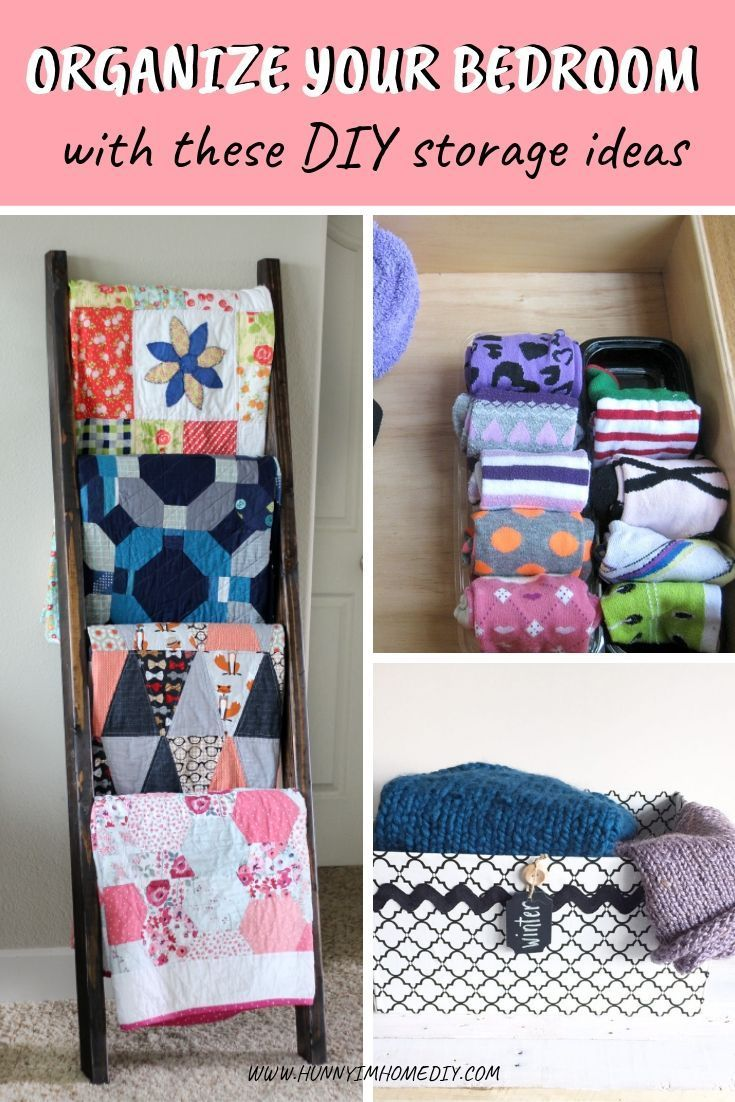 10 Awesome Diy Storage Ideas For Small Bedrooms Amazing Diy