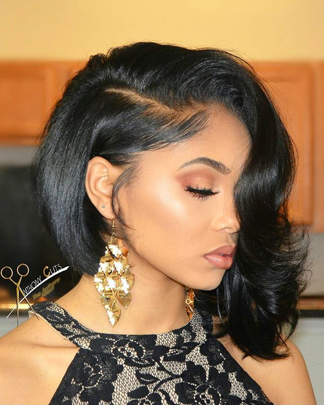 BANGN BOB and MAKEUP FOR THIS BEAUTY #THEANTHONYAFFECT