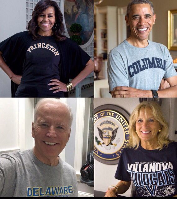 FLOTUS Michelle Obama, POTUS Barack Obama, Vice President Joe Biden and Wife Jill Biden | College Sign In Day April 26th 2016 Reach Higher