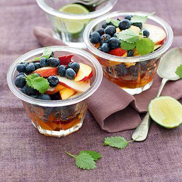 Heidelbeer-Nektarinen-Salat Rezept | Küchengötter
