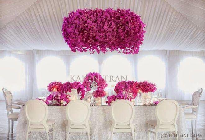 Stijlvol Styling: Inspirerende ideeën voor een 'Radiant Orchid' thema bruiloft! http://stijlvolstyling.com