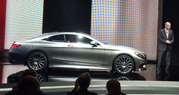 """Geneva 2014: Mercedes-Benz S-Class Coupe Stuns, Promises """"Curve Tilting"""" Active Suspension"""
