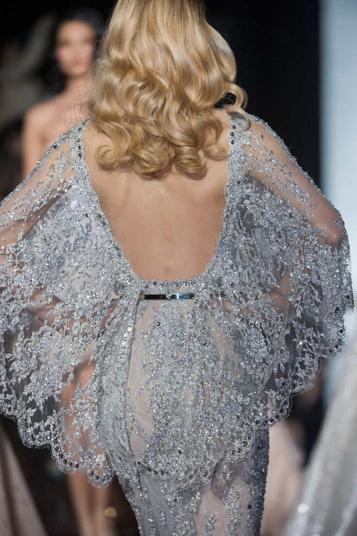 Extraordinary details / karen cox. Zuhair Murad at Couture Spring 2015 - StyleBistro