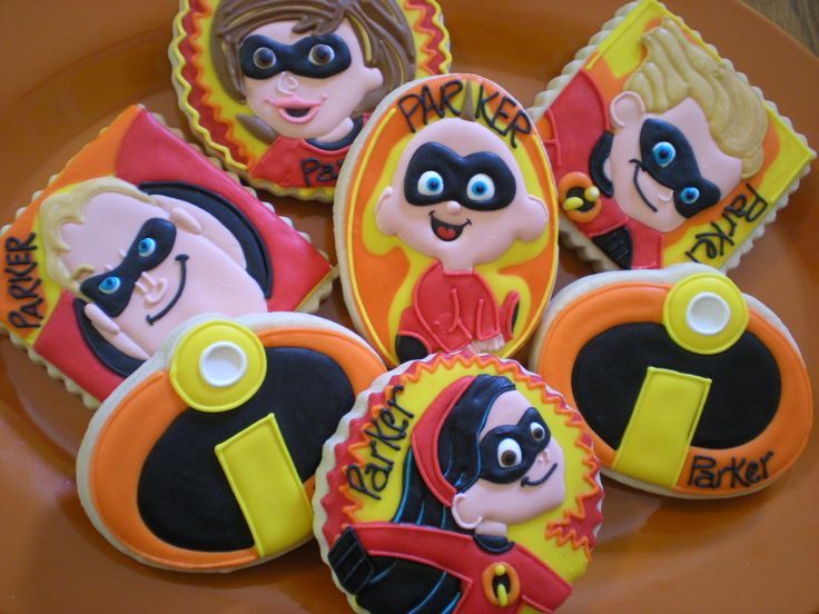 1000 Images About Incredibles The Cookies Cakes Ideas