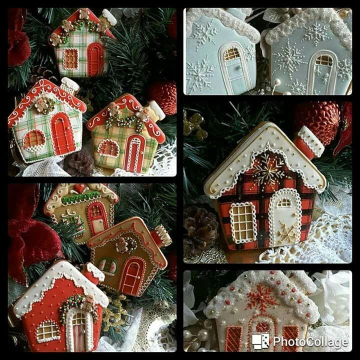 Teri Pringle Wood: Gingerbread houses. ♡