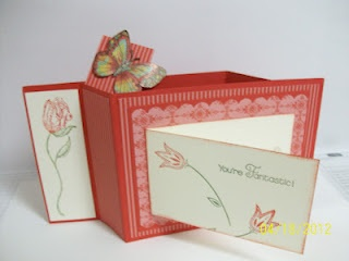 cardmaking: Spring Wiper Card