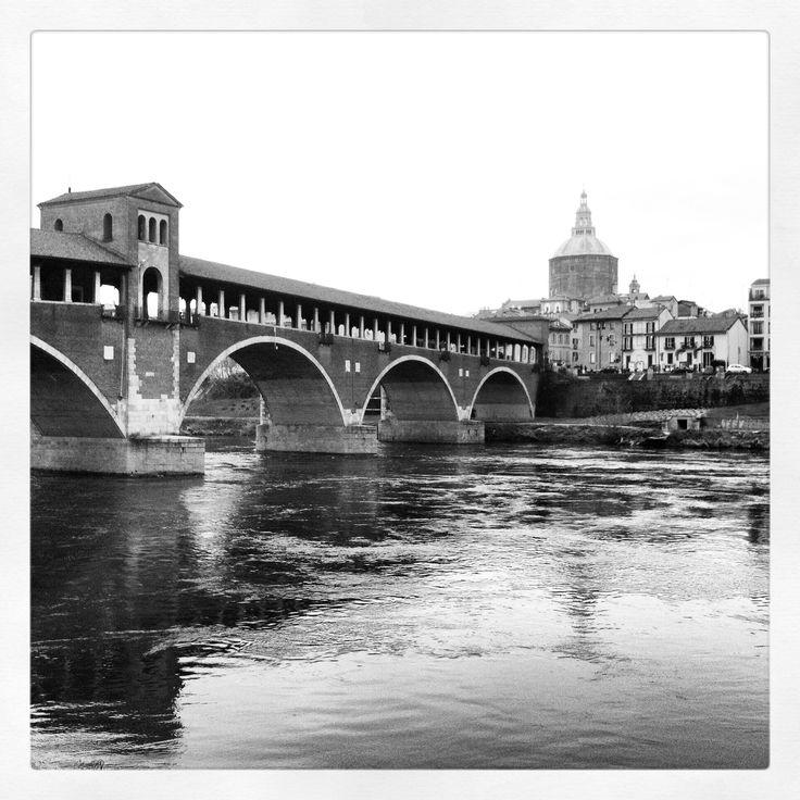 Pavia, Ponte Coperto