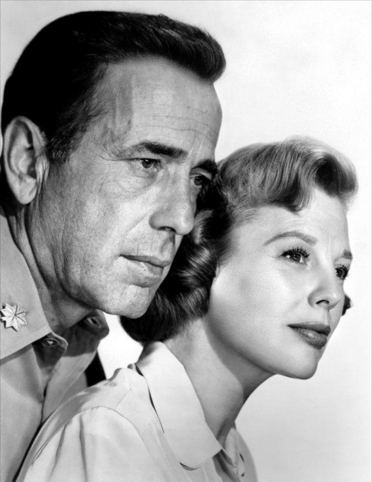 Humphrey Bogart & June Allyson