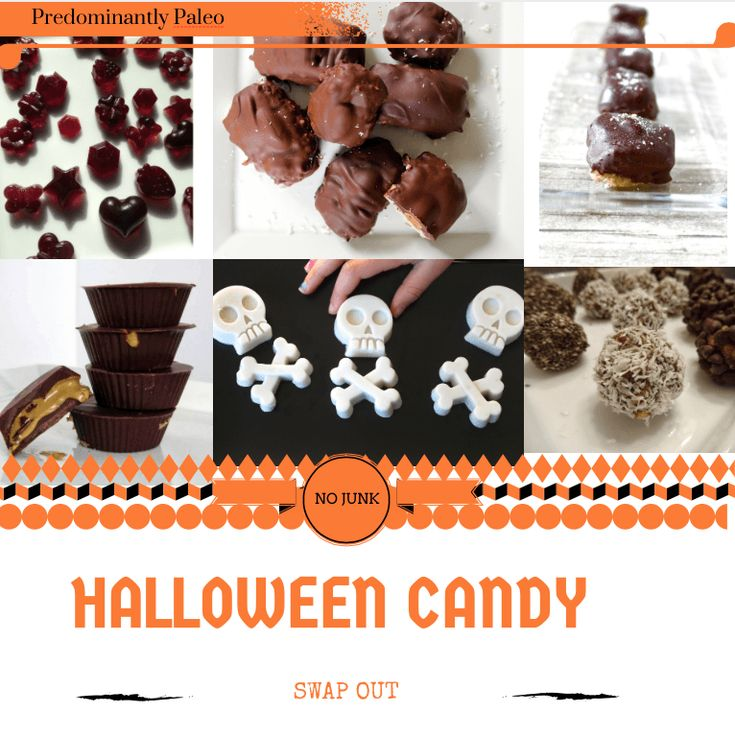 Skull Gummies + Halloween Candy Swap Out