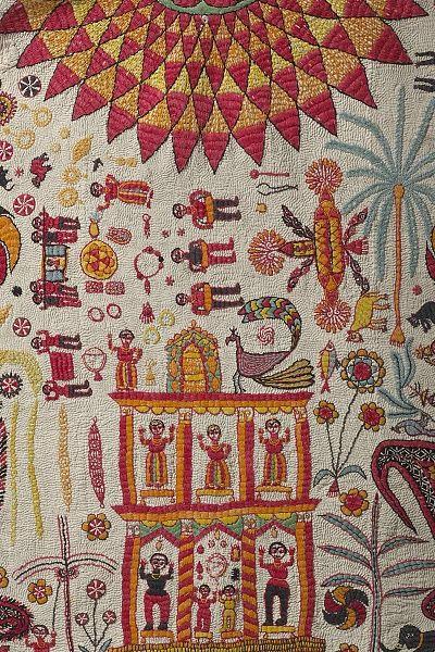 カンタと刺子 -ベンガル地方と東北地方の針仕事