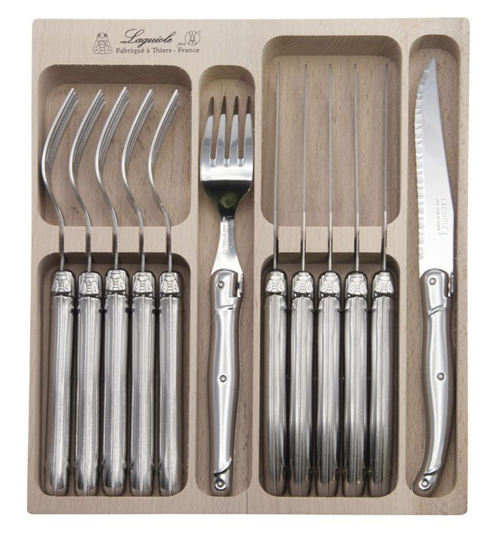 ANDRE VERDIER DEBUTANT STAINLESS 12PCE CUTLERY SET MADE IN FRANCE