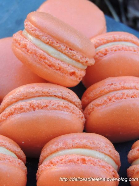 macarons mangue-passion (3)