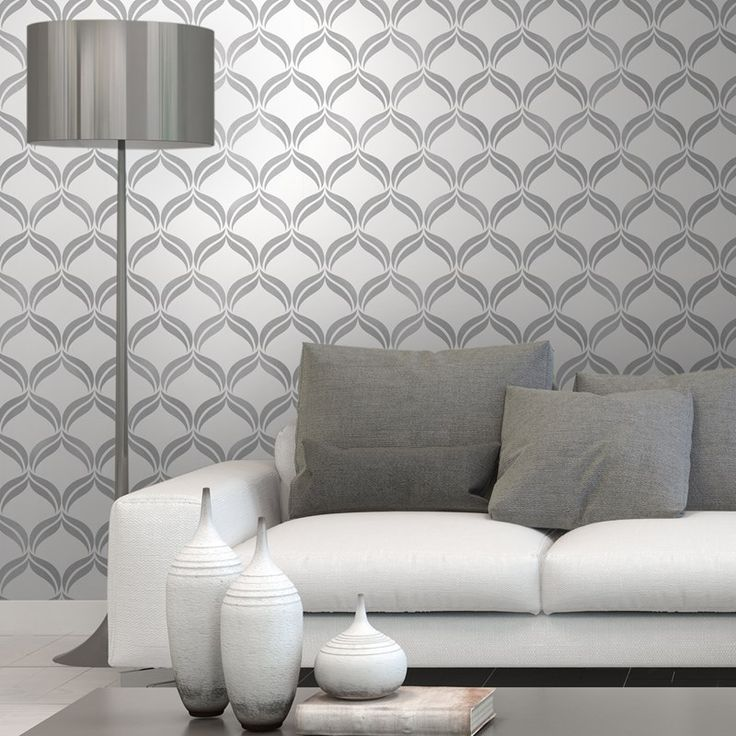 Wentworth Grey Wallpaper | Harry Corry Limited