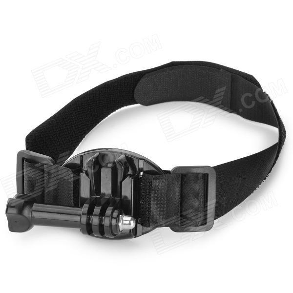 WHA3-T05C-K3 Arm / Leg Mount Holder w/ Velcro Belts for GoPro Hero 4 - Black