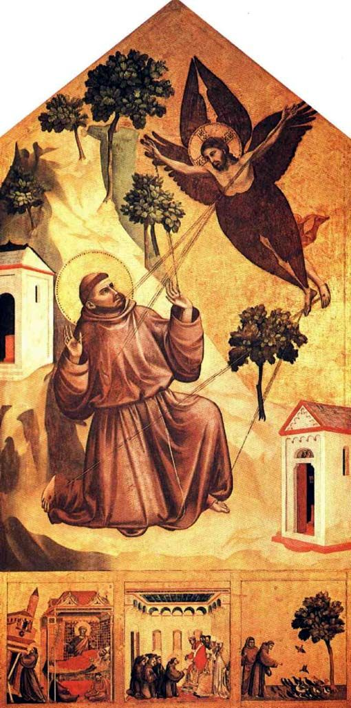 MI RINCON ESPIRITUAL: ORACIÓN A SAN FRANCISCO EN LA VERNA (Giotto y Juan...