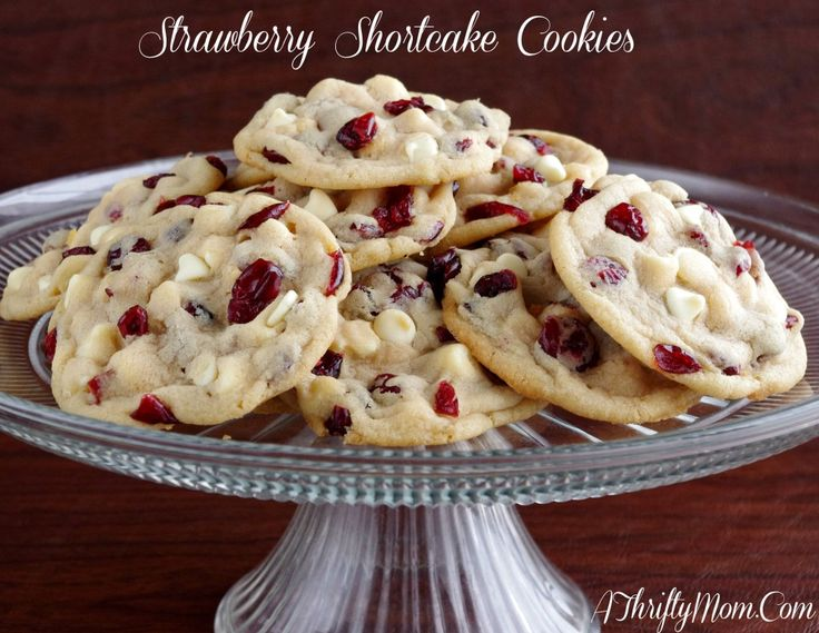 Strawberry Shortcake Cookies, Money Saving Recipes, Otis Spunkmeyer Copycat Recipes