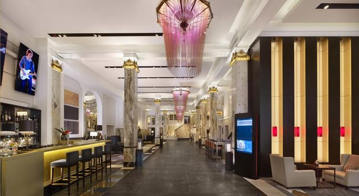 Reichshof Hamburg, Curio Collection by Hilton Hamburg Featuring stunning designs where history and tradition meet modernity, The Reichshof Hamburg, Curio Collection by Hilton reopened in July 2015 and is located in the heart of Hamburg.