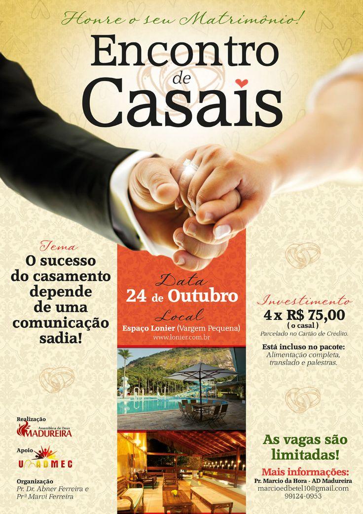 Arte p/ Cartaz A3. Cliente: Igreja Evangélica AD Madureira.
