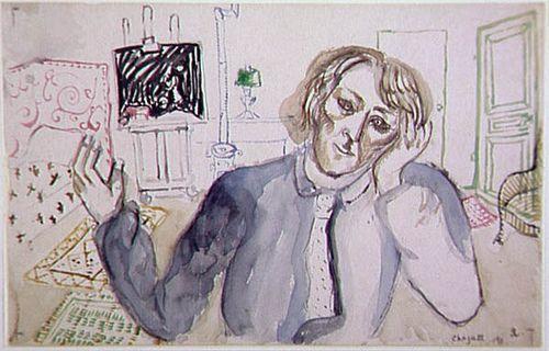 Marc Chagall, Moi, 1911. Paris, Centre Pompidou