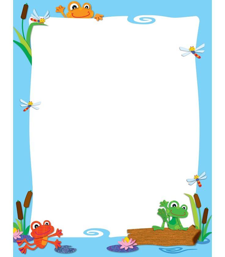 FUNky Frogs Blank Chart (CD114186) #school #education #decorations