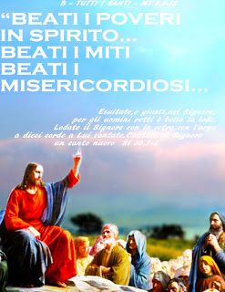 PAROLA Anno Liturgico B: B - TUTTI I SANTI