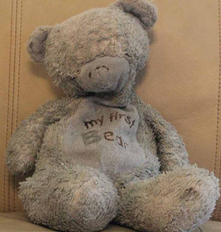Lost on 04 Aug. 2016 @ Denver International Airport. Small blue bear, raggedy, says my first bear on tummy. Missing both eyes, very well loved, been with our child for four years. Visit: https://whiteboomerang.com/lostteddy/msg/jaju6r (Posted by Jennifer on 10 Aug. 2016)