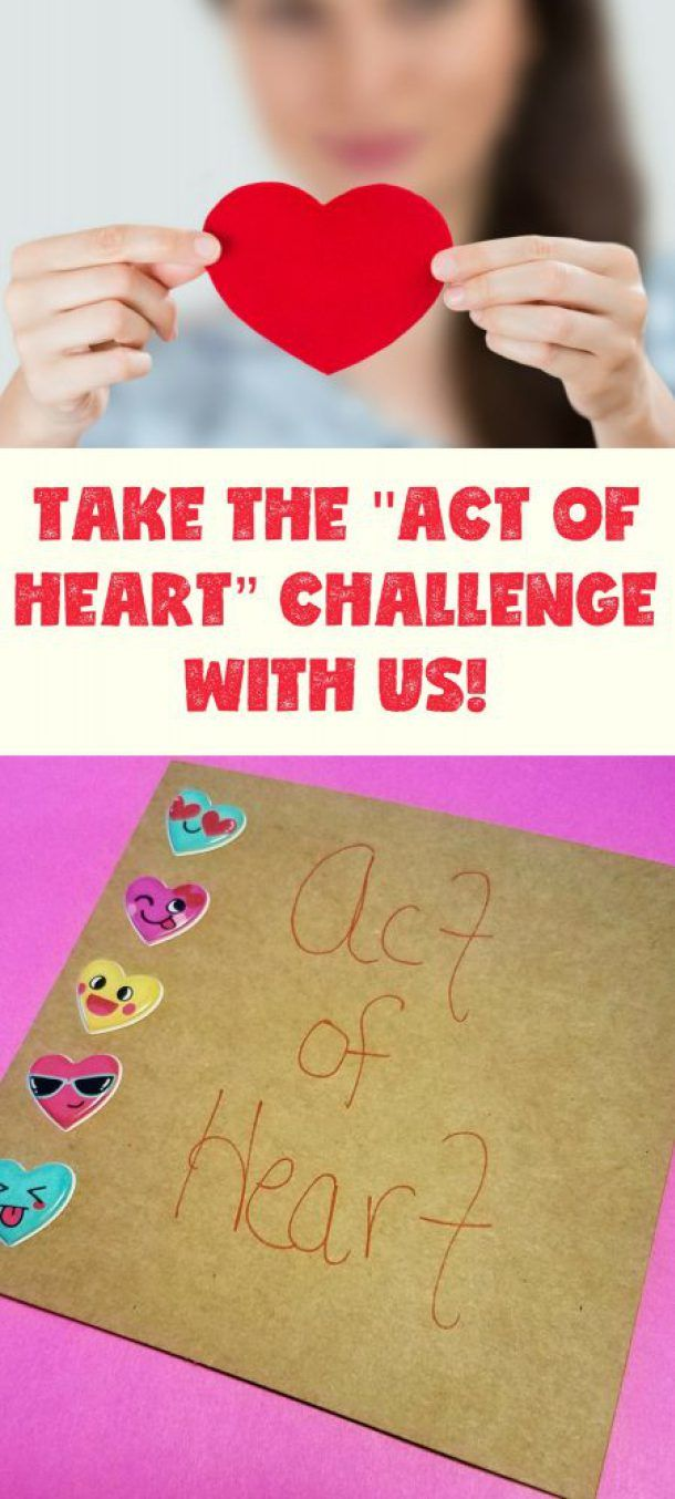 """Take the """"Act of Heart"""" Challenge with us! While helping to create awareness and raise necessary funds to support the research that will allow heart-patients more time with friends and family. Make your own cards and send to heart patients. This is a great solo or family activity to help give a piece of your """"heart"""" during February's upcoming heart month! Let all stand together and get help for heart patients and their families. #ad"""