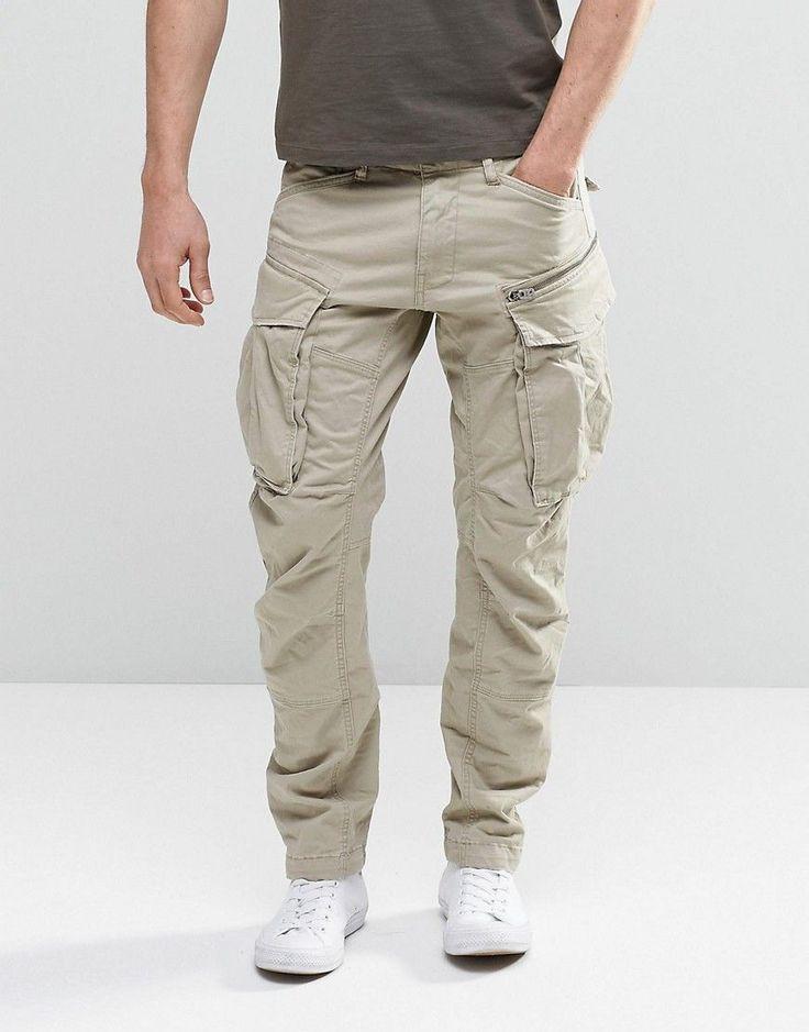 G-Star Rovic Zip Cargo Pants 3D Tapered - Beige