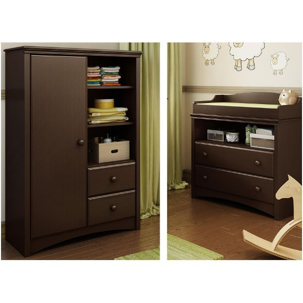 Angel South Shore Changing Table U0026 Armoire