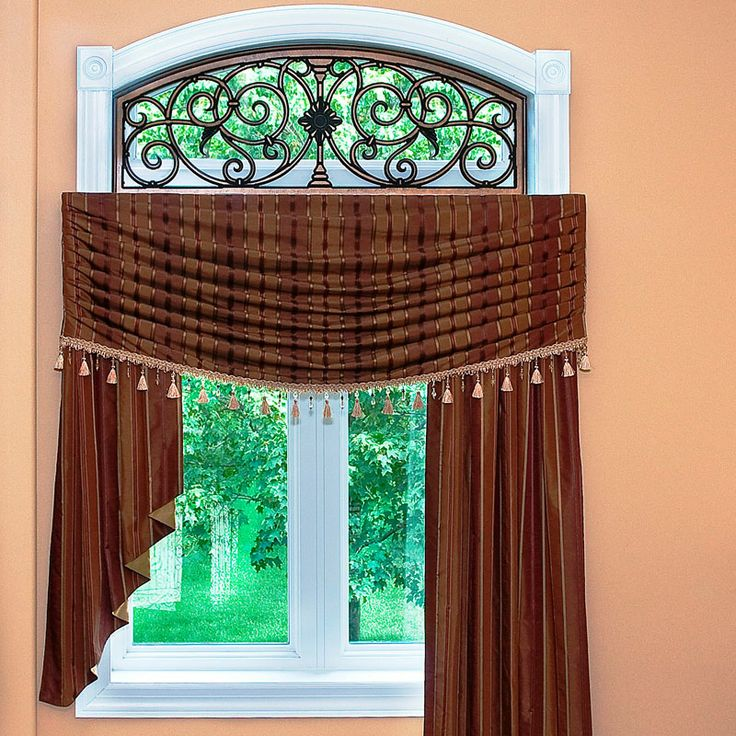 126 best faux rod iron images on pinterest window for International decor window treatments